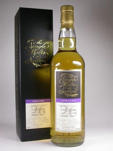 "Linlithgow 26 Jahre 1982/2008 ""The Single Malts of Scotland"" 63,7%vol. 0,7l"