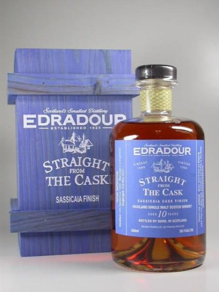 Edradour 1998/2008 Sassicaia Finish 58,1%vol. 0,5l