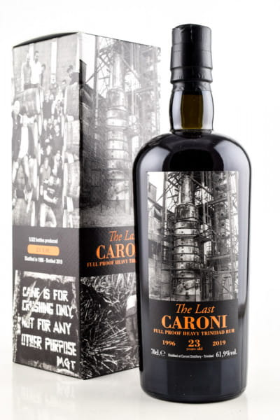 The Last Caroni 23 Jahre 1996/2019 61,9%vol. 0,7l