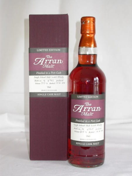 Arran 1997/2004 Port Cask Finish No.1 57,5%vol. 0,7l