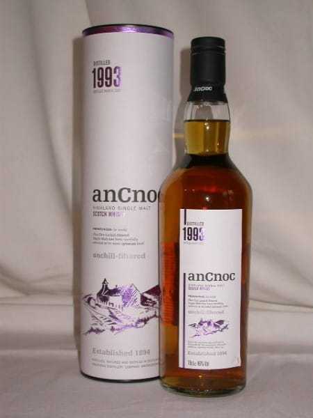 An Cnoc 1993/2007 46%vol. 0,7l
