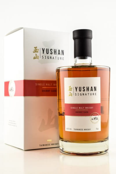 Yushan Signature Sherry Cask 46%vol. 0,7l