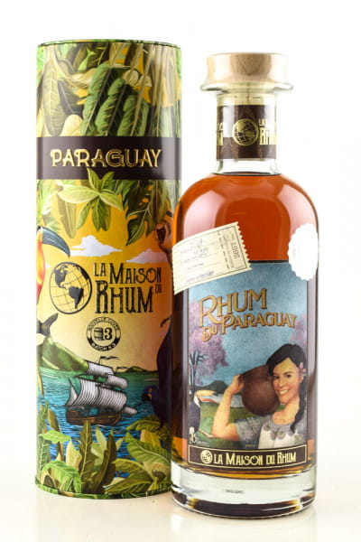Rhum Paraguay - La Maison du Rhum Batch #3 45%vol. 0,7l