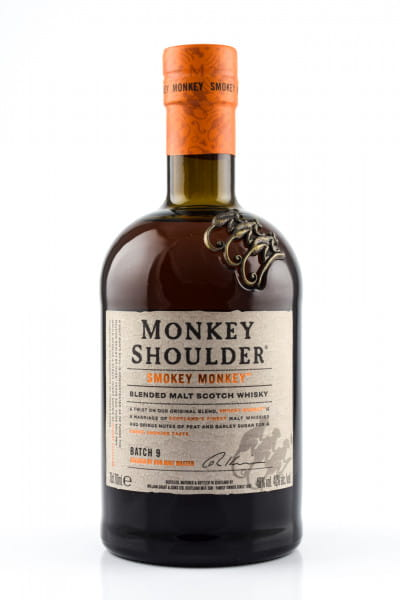 Monkey Shoulder - Smokey Monkey 40%vol. 0,7l