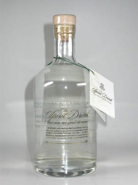 "Glenglassaugh ""The Spirit Drink that dare not speak its name"" 50%vol. 0,5l"